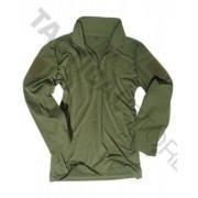 Mil-Tec Miltec Tactical Shirt (Färg: Olive Green, Storlek: M)