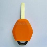 ELECTROPRIMEÃ'® 2PCS 3-Button Silicone Remote Key Case for BMW X3 X5 Z3 Z4 Pink & Orange