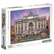 Puzzle 500 Fontana de Trevi - Clementoni