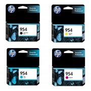 Combo Cartucho HP 954-Negro + HP 954-Cian + HP 954-Amarillo + HP 954-Magenta