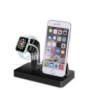 Gbu horloge stand voor appelwatch serie 1 2 ipad iphone 7 6 6s plus 5 5s 5c metalen stand all-in-1 38mm / 42mm kabel niet inbegrepen