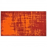 Covor Decorino, Modern & Geometric, polipropilena, C-020109, 60x110 cm, Portocaliu