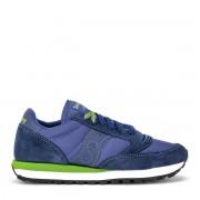 Saucony Sneaker Saucony Jazz realizzata in suede e tessuto bluette