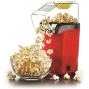 Smiledrive Portable Popcorn Maker, Mini Pop Corn Making Popping Machine Hot Air Portable Popcorn Maker, Mini Pop Corn Making Popping Machine-Get Theatre Quality Popcorn at Home 10 g Popcorn Maker(Red)