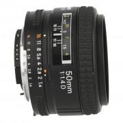 Nikon AF Nikkor 50mm f1.4 D Objetivo JAA011DB negro - Reacondicionado: muy bueno 30 meses de garantía Envío gratuito