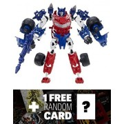 Smokescreen: Transformers Construct-Bots Elite Class Buildable Action Figure + 1 FREE Official Transformers Trading Card Bundle