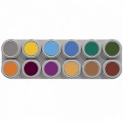 Grimas Grimas schmink palet 12 kleuren B