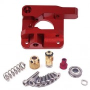 Seloky para 1,75 mm de filamento de piezas de impresora 3D MK8 extrusor de aleación de aluminio bloque extrusor Bowden, Creality 3D Ender 3,CR-7,CR-8, CR-10, CR-10S, CR-10 S4 y CR-10 S5