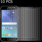 10 PCs Para Samsung Galaxy J2 / J200 0.26mm 9h Dureza Superficial 2.5D A Prueba De Explosion Tempered Glass Screen Film