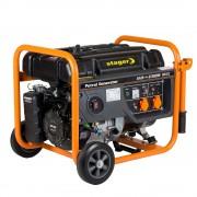 Stager GG 7300W generator open-frame 5.8kW, monofazat, benzina, pornire la sfoara