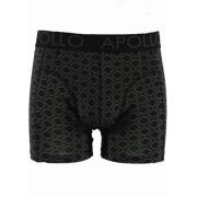 Apollo boxershort zwart ruit
