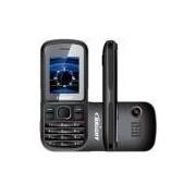 Celular Brigth, Câmera, Lanterna, Rádio FM, Dual Chip - Preto