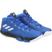 ADIDAS CRAZY HUSTLE Basketball Shoes For Men(Blue)