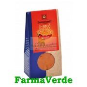 Condiment Chilli Iute macinat 40 gr BIO Sonnetor