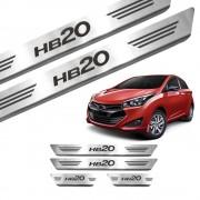 Soleira de Aço Inox Hyundai HB20