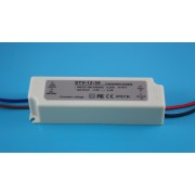 LED tápegység , 12 Volt , 30 Watt , 2,5A , kültéri , IP67