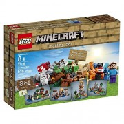 Building Block LEGO Minecraft (8 in 1) Crafting Box (518pcs) Figures Toys