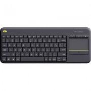 Logitech Wireless K400 Plus Wireless keyboard Black Built-in touchp...