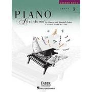 Level 5 - Lesson Book: Piano Adventures, Paperback/Nancy Faber