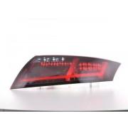 FK-Automotive fanali posteriori a LED Lightbar Audi TT 8J anno 06-14 rosso/fume