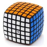 6x6 Versenykocka, lekerekített változat fekete 00.0061