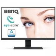 Монитор BenQ BL2480, 23.8 инча Wide IPS LED, 5ms GTG, 1000:1, 12m:1DCR, 250cd/m2, 1920x1080 FHD, VGA, HDMI, DP, Spekers, Tilt, Черен, 9H.LH1LA.TBE