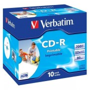 Mediu optic Verbatim BLANK CD-R Datalife Plus 52X 700MB 10 bucati
