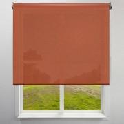 Victoria-M Roleta materiałowa, Terakota, 140 x 230 cm, Wolnowisząca, Przyciemniająca