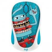 Мишка Logitech Doodle Collection - M238 Wireless Mouse - SKATEBURGER, 910-005052