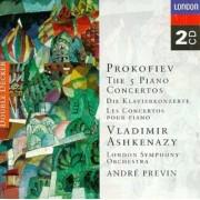 Vladimir Aschenazy - Prokofiev: The Five Piano Concertos (2CD)