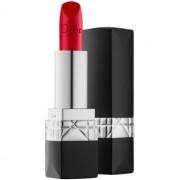 Dior Rouge Dior луксозно овлажняващо червило цвят 634 Strong Matte 3,5 гр.