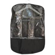 PRAHAN INTERNATIONAL Men's Coat Blazar Cover Garment Bag Suit cover PIS-1978004(Black)