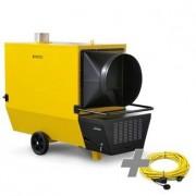 TROTEC Calefactor de gasoil ID 800 axial + Cable de extensión profesional 20 m / 230 V / 2,5 mm ²