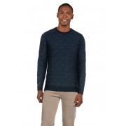 Baldessarini Pullover, Rundhals, gerader Schnitt blau