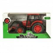 Markolós traktor, piros
