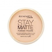 Rimmel London Stay Matte dlouhotrvající kompaktní pudr 14 g odstín 005 Silky Beige pro ženy