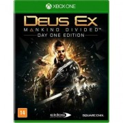 Jogo Deus Ex: Mankind Divided - Xbox One - Unissex
