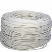 Cable Utp Cat 5+ Especial Exterior Blanco Bobina 500m