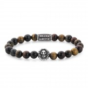 Rebel and Rose RR-8L028-S-S Armband Who's afraid of the Lion S 8mm 16.5
