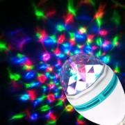 Disco Light Party Bulb 360 Rotate 3W- 2Pcs.