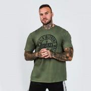 GymBeam Majica Walk In Strong Military Green S