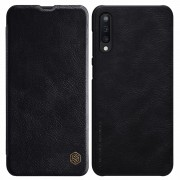 NILLKIN Qin Series Leather Case with Card Slot for Samsung Galaxy A50 - Black