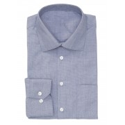 HEMA Heren Overhemd Donkerblauw (donkerblauw)