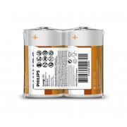 Philips R20L2F/10 - 2 buc Baterie clorura de zinc D LONGLIFE 1,5V