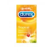 Reckitt Benckiser Durex Tropical profilattici colorati e aromatizzati (6 pz)