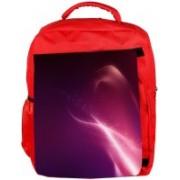 Snoogg Eco Friendly Canvas Pink Pattern Design Designer Backpack Rucksack School Travel Unisex Casual Canvas Bag Bookbag Satchel 5 L Backpack(Red)