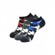 Justice League By Balenzia Low Cut Socks for Men-Pack of 3