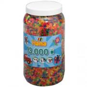 Hama Strijkkralen Hama Ton Met 13000 Stuks Neon
