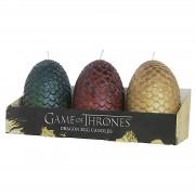 Insight Editions Game of Thrones Drakeneieren Kaarsen (Set van 3)