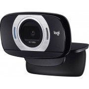 Logitech C615 Full HD-webcam 1920 x 1080 pix Standvoet, Klemhouder